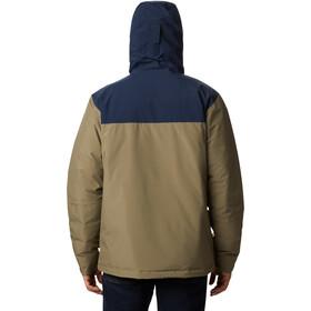 Columbia Horizon Explrr Insulated Jacket Men stone green/collegiate navy